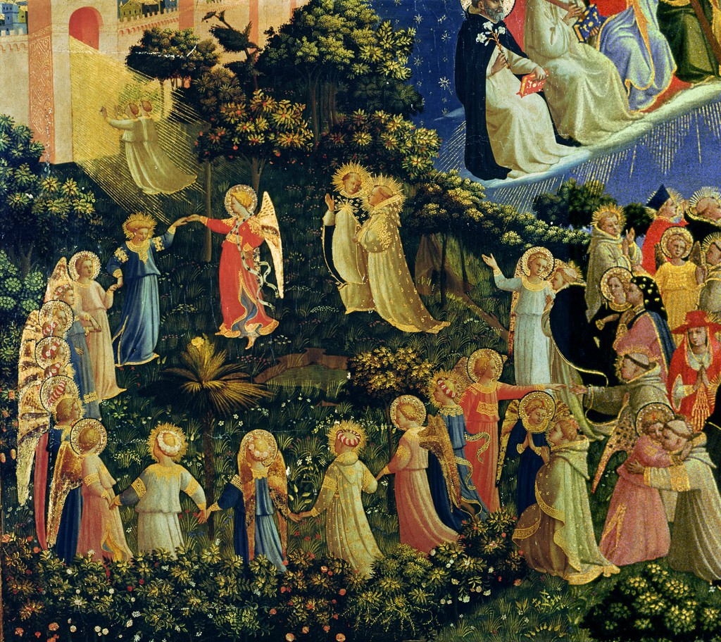 rondes saints fra angelico +